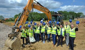 Ashe celebrate at Warth Park as work commences