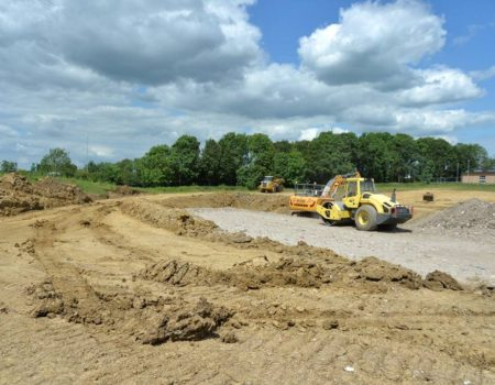 Commencement of work for the Enterprise Centre Warth Park