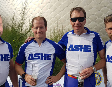 extra mile challenge 2019 Ashe team members