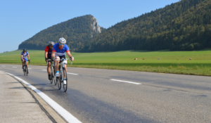 Extra Mile Challenge cyclists